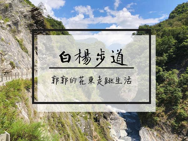 【花蓮遊記】太魯閣白楊步道┃近天祥遊憩區的滴水穿石型步道┃
